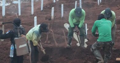 Face Masks Violators Ordered To Dig Graves For COVID-19 Victims