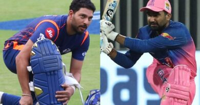 Yuvraj Singh Thanks Rahul Tewatia For 'Missing One Ball' During 18th Over Against Sheldon Cottrell